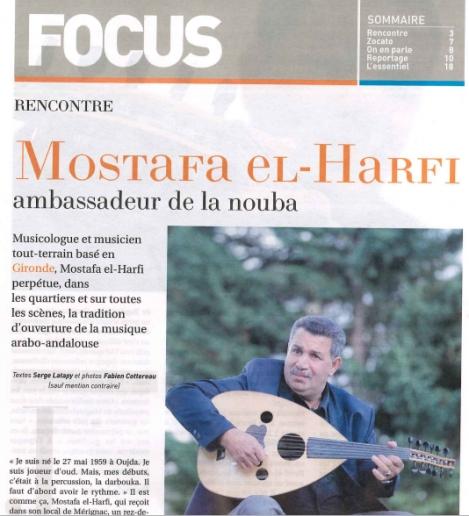 Mostafa El Harfi dans Le Mag du journal Sud-Ouest